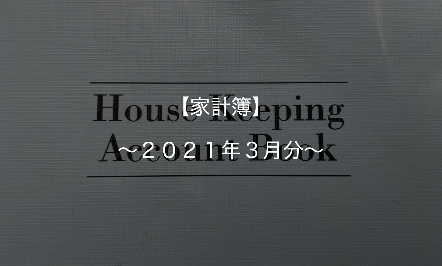 予算オーバー!調子こいて5万円に設定したら全然足りませんでした【カップル家計簿 2021年3月分】